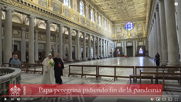 Papa Francisco en YouTube